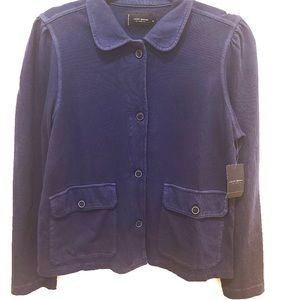 Lucky Brand- Cotton Button Up Shirt/ Blazer